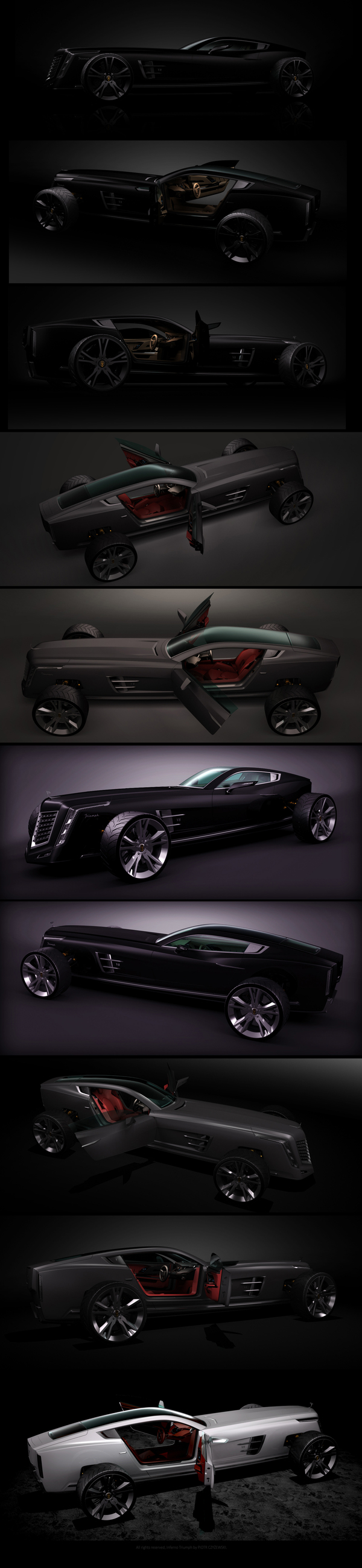 Piotr Czyzewski   Inferno Triumph transport  transport supercar prototype motorsport design index design concept car concept
