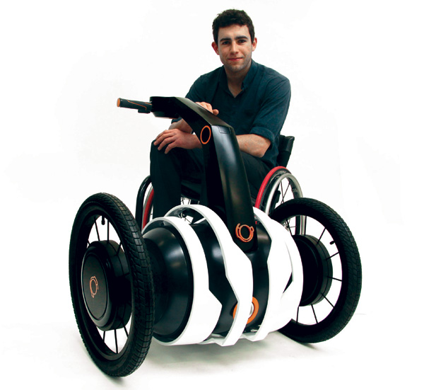 Oscar Fernandez   Independant Wheel Chair Assistant transport design student high tech  transport Environnement electric design index design concept chair assistant