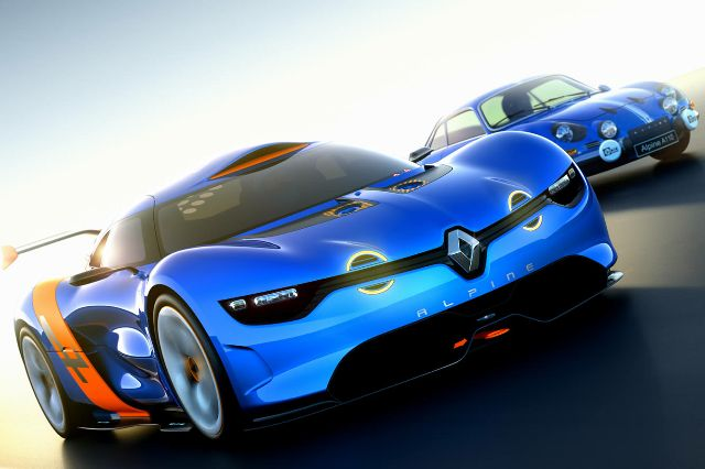 Renault Alpine A110 50 transport sport  transport supercar renault prototype motorsport high tech design index design concept car concept alpine