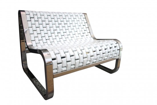 Easign   Porcelain Bench furniture 2 designindex  spa porcelain furniture french designer easign design index design bench