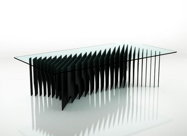 Romain Duclos   X29 furniture 2 designindex  wood table furniture french designer design index design concept coffee table