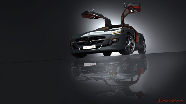 New D! Award for Slimane Toubal   Mercedes 300SL Gullwing   June 13rd transport designindex  transport supercar slimane toubal motorsport mercedes high tech design D! Award concept car concept 300sl