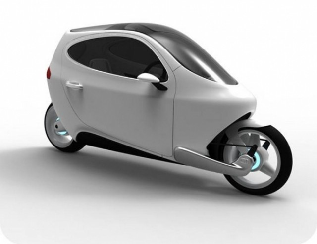 Lit Motor   C1 & Cargo Scooter transport  transport segway high tech gyroscopic gyro Environnement electric design index design concept car autobalanced