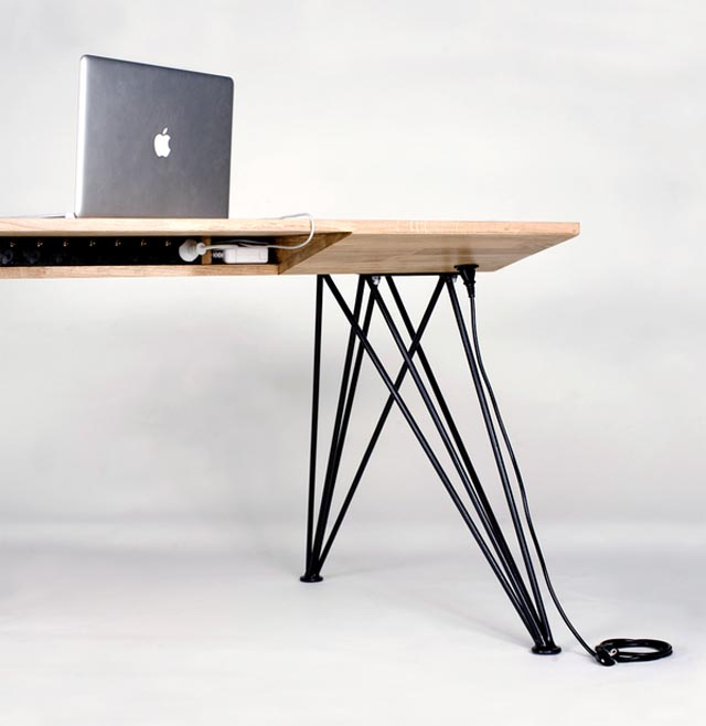 5be574a404fdf0e311f74e1677d65f8e Christofer Ödmark   The Desk furniture 2  wood macintosh macbook air macbook furniture desk design index design concept Christofer Ödmark cable management