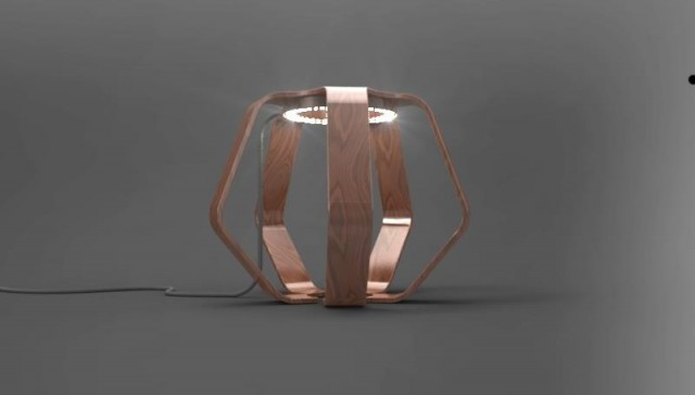 Barnabé Ribay   Lignum furniture 2 light designindex  wood lignum light french designer electric design index design concept barnabé ribay