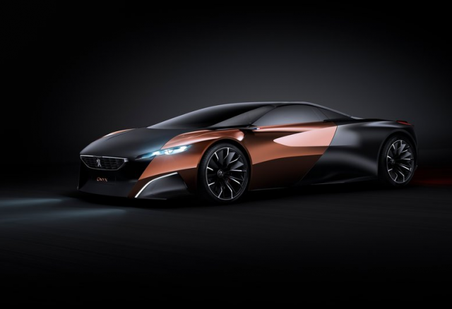 peugeot onyx 4 640x438 Peugeot Onyx Concept [VIDEO] video transport  transport supercar peugeot onyx high tech design index design concept car concept
