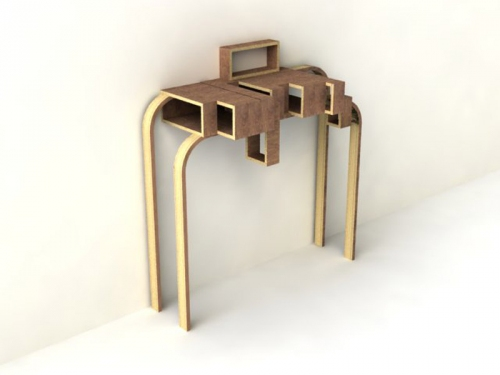 Benjamin Rousse   Partitions furniture 2 designindex  wood partition furniture french designer design index design benjamin rousse