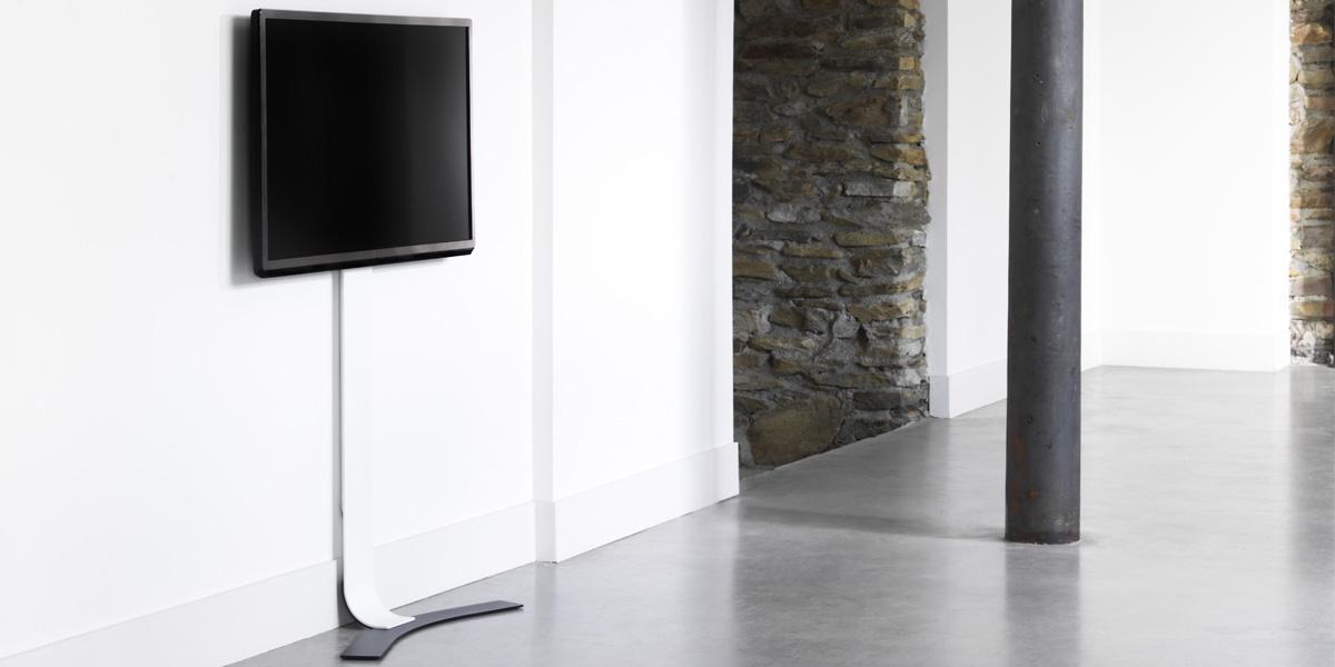 support mural tv sans percer. Black Bedroom Furniture Sets. Home Design Ideas