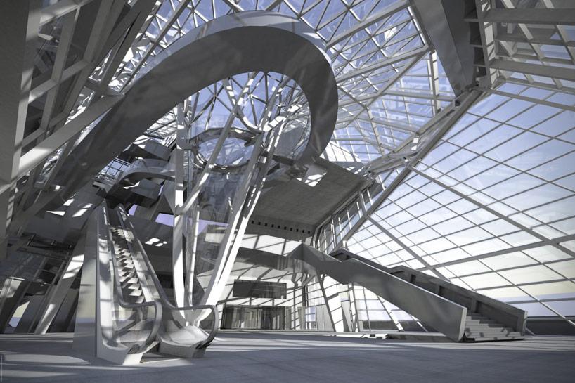 L'architecture du Bâtiment Est