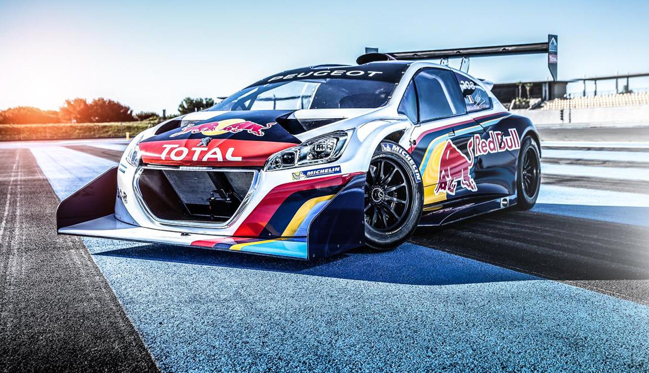 Visite (très) privée chez Peugeot Sport !
