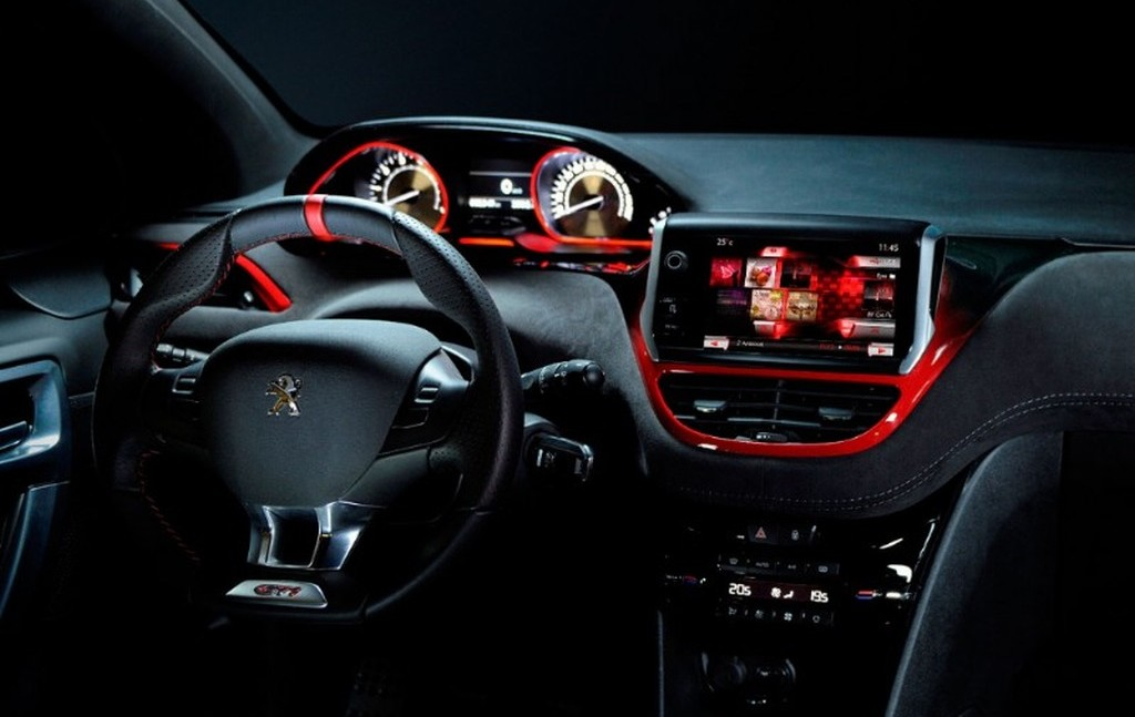 interieur peugeot 208 gti design index. Black Bedroom Furniture Sets. Home Design Ideas