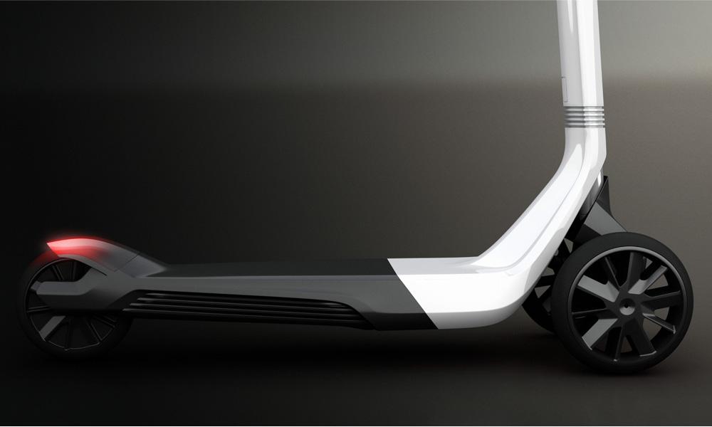 la trottinette par peugeot design lab design index. Black Bedroom Furniture Sets. Home Design Ideas